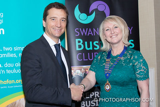 Swansea Bay Business Club Xmas Dinner 2015