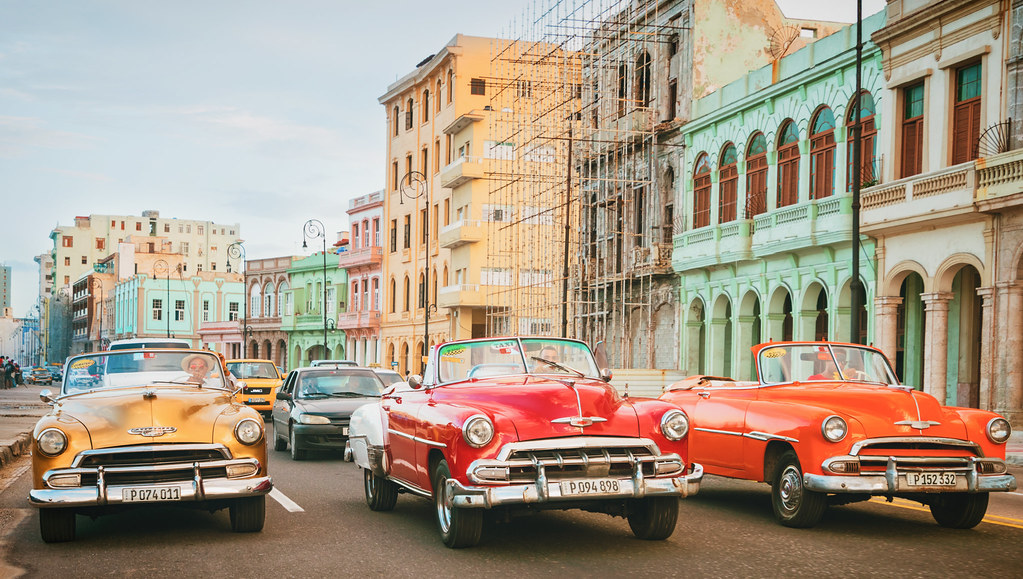 Cuba - Vintage American Cars | Classic American cars in Hava… | Flickr