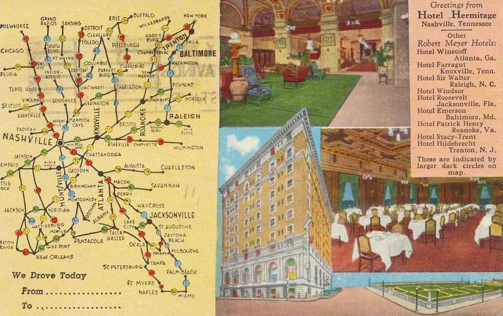 Hotel Hermitage - Nashville, Tennessee