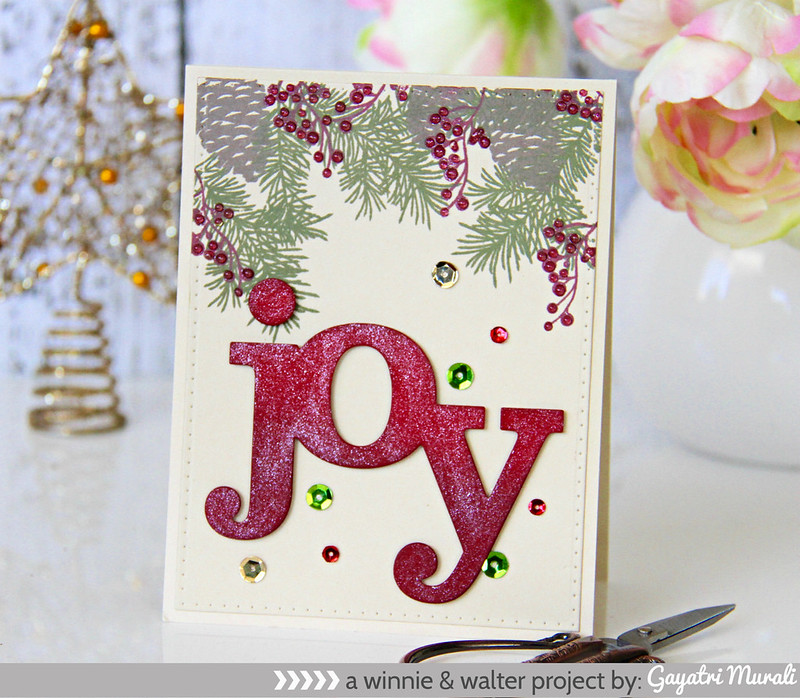 Red Joy card