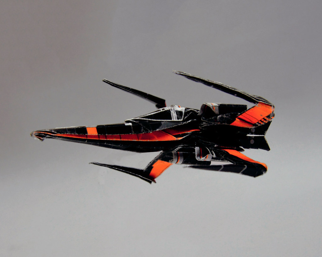 Resistance t 70 poes x wing origami star wars available flickr resistance t 70 poes x wing by karol kafarski jeuxipadfo Images