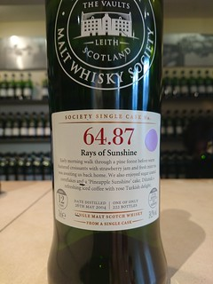 SMWS 64.87 - Rays of Sunshine