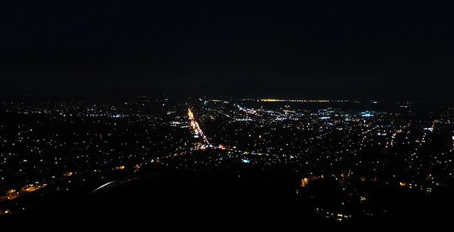 night view of San Francisco from Twin Peaks, San Francisco, CA, USA