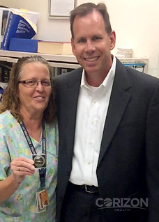Director of nursing recognized at Branchville Correctional Facility, Indiana