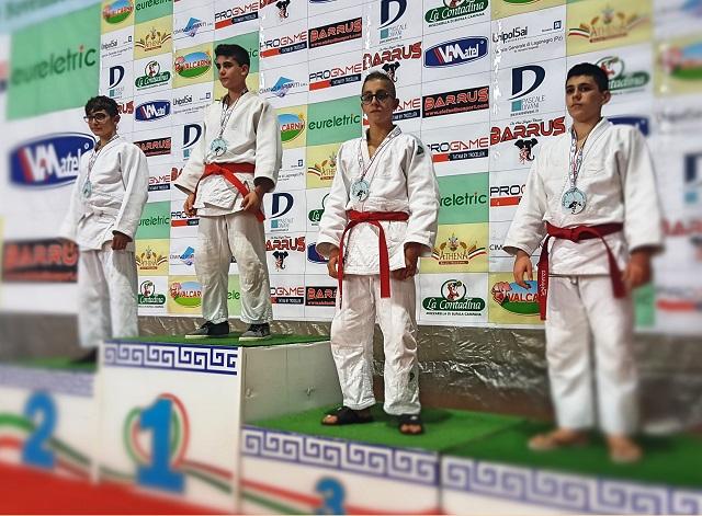 Noicattaro. Vittoria judo intero