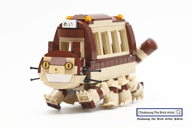LEGO Totoro chat-bus