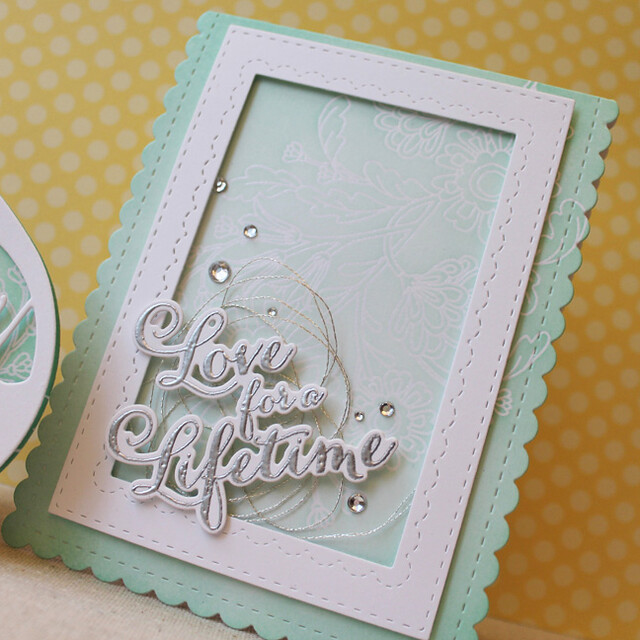 Love For A Lifetime Wedding Card