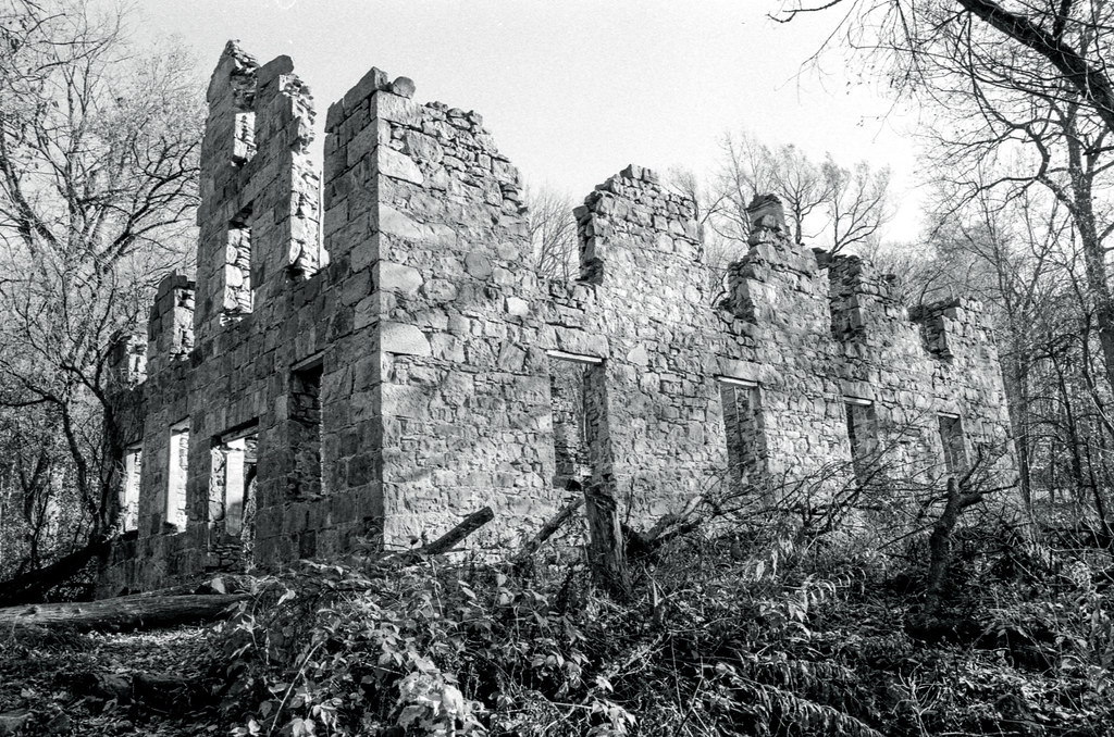 The Outside Glen Morris Ruins_