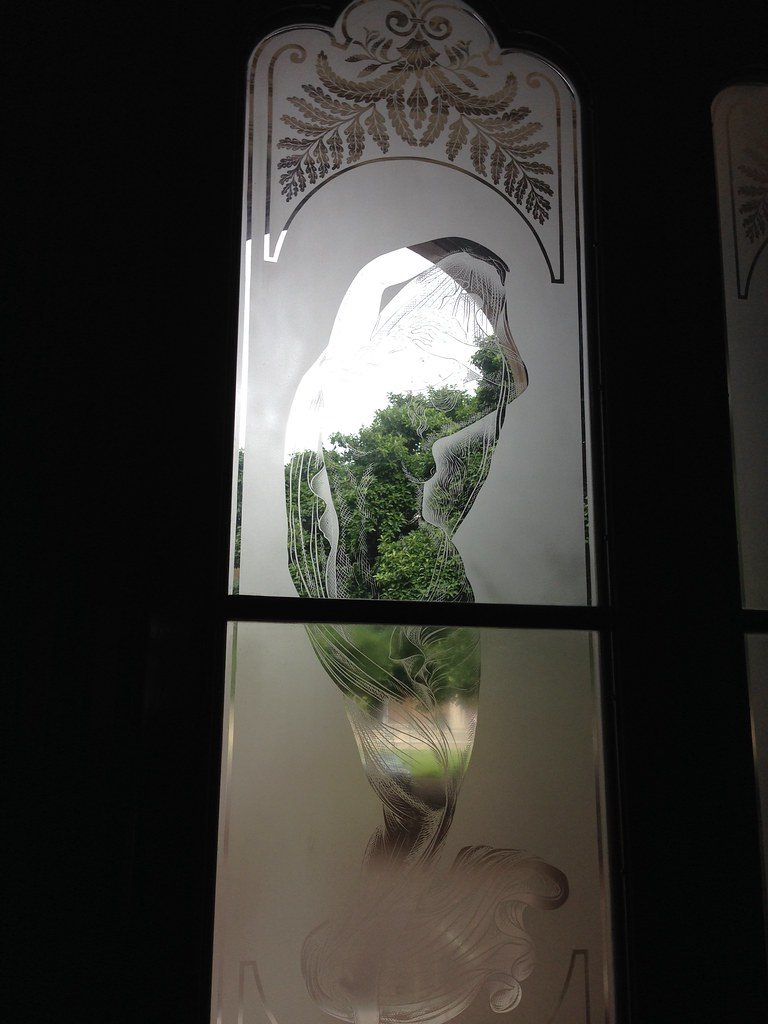 ... Iolani Palace Glass Door | By Ewen And Donabel