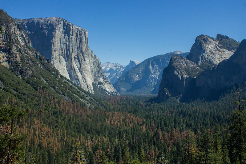 Inspiration Point, Yosemite National Park
