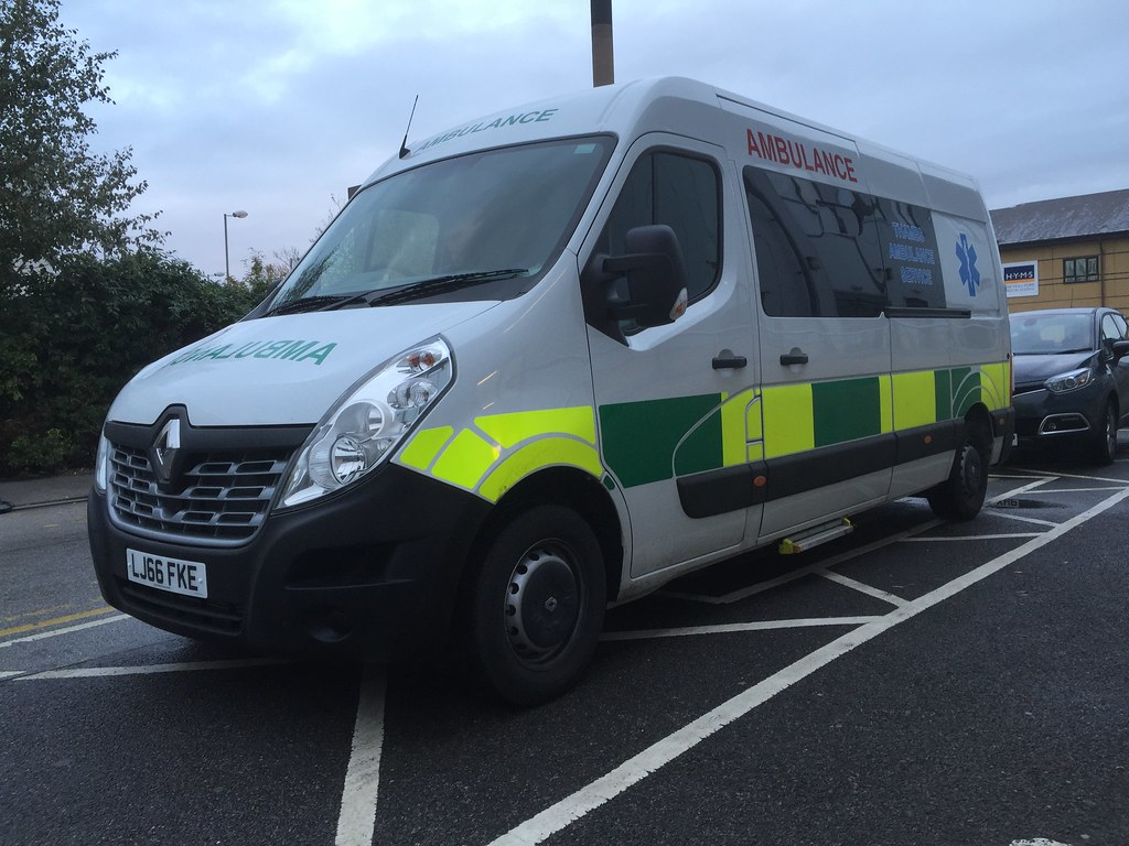 Thames Ambulance Service LJ66FKE Renault Master With A PTS Conversion Supplied By Bluelight UK
