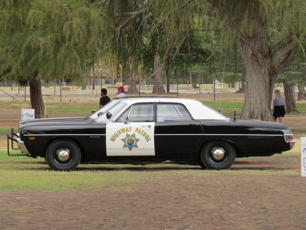 Dodge polara police car