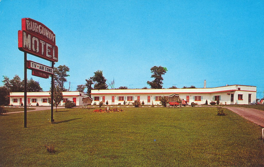 Burgundy Motel - White Marsh, Maryland