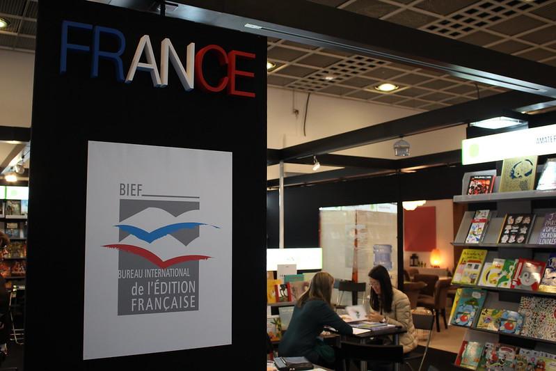 Bureau international de l'édition française BIEF - Frankfurt Buchmesse 2015
