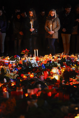 Prague prays for Paris | by Bianca Dagheti