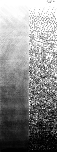 Tonal bars (2B pencil and technical pen) | by tychay