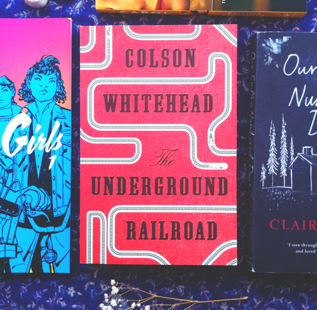 underground railroad colson whitehead uk book haul