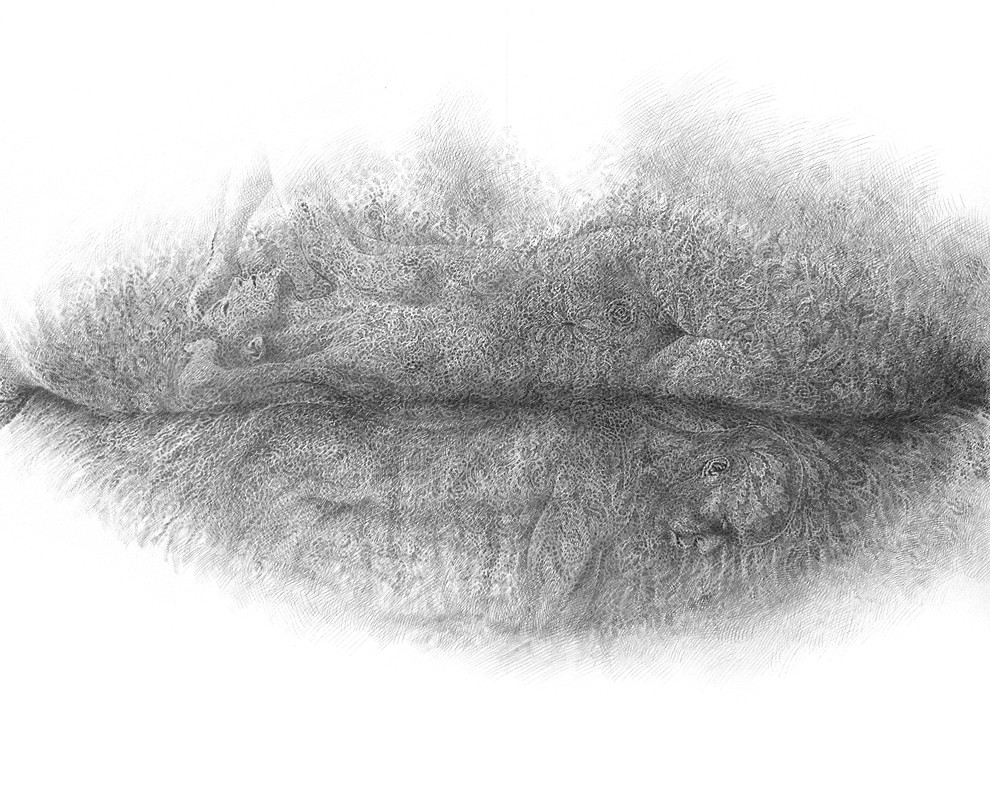 ... Christo Dagorov, unity (lips series 10.15), 2015   by Mathieu  Croisetière 6ee2f4f23c