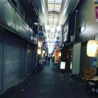 京都SILVER WINGSへは、地下鉄の東山からこのアーケード商店街を歩いて行くのが好きだ。