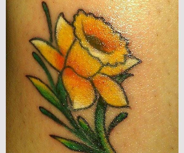 Rose And Daffodil Tattoo Via Tattoos Trends Gallery Ifttt Flickr