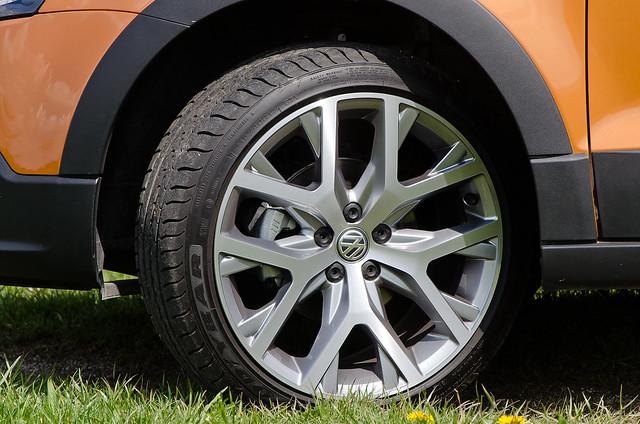 Колесные диски Volkswagen CrossPolo