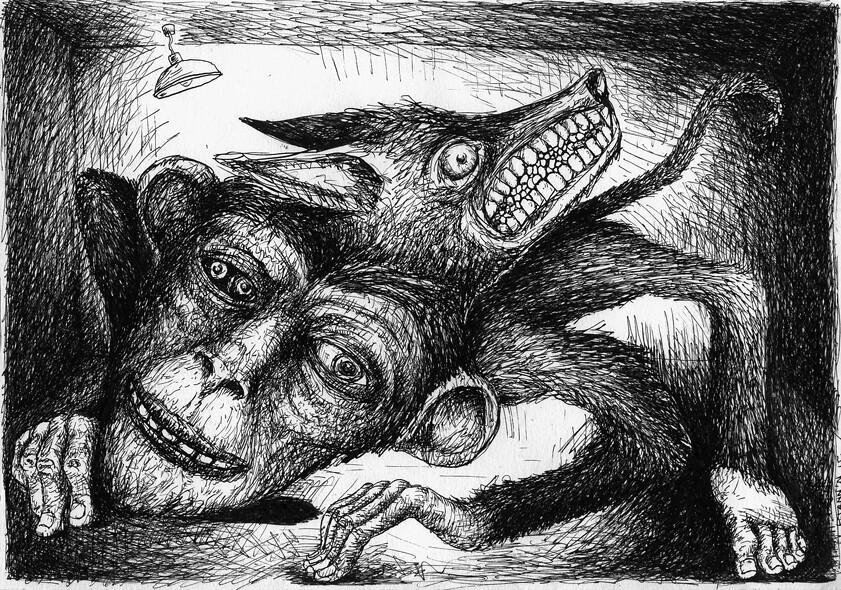 un singe en enfer by pjannn