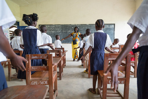 Class at Billy Town, Liberia | by Global Partnership for Education - GPE