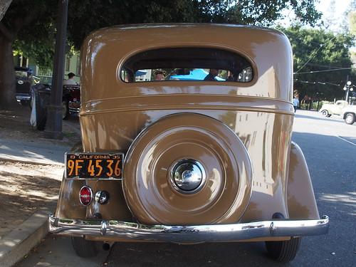 1935 chevrolet 4 door sedan 39 9f 45 36 39 2 photographed at for 1935 chevrolet 4 door sedan