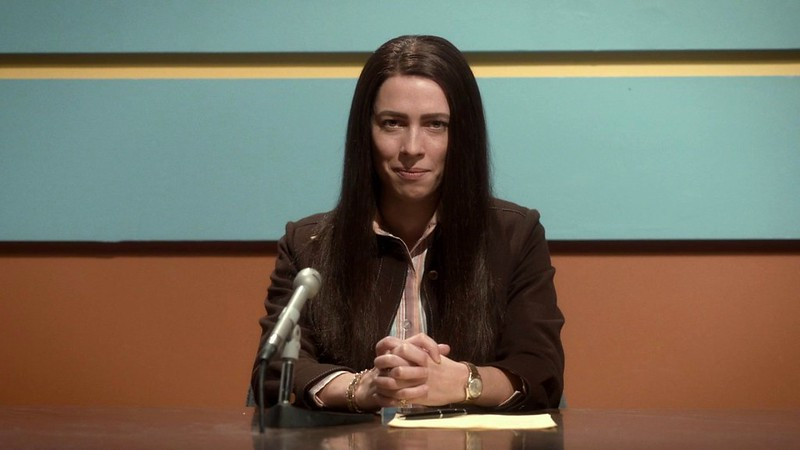 Rebecca Hall takes the viewers in a surprising direction in CHRISTINE.