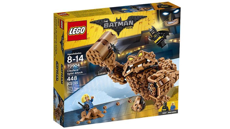 LEGO Batman Movie - Clayface Splat Attack (70904)