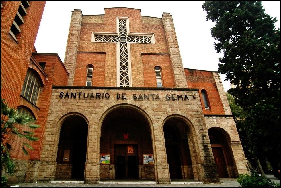 Direcciones a Parroquia Santuario Santa Gema (Madrid) en transporte público