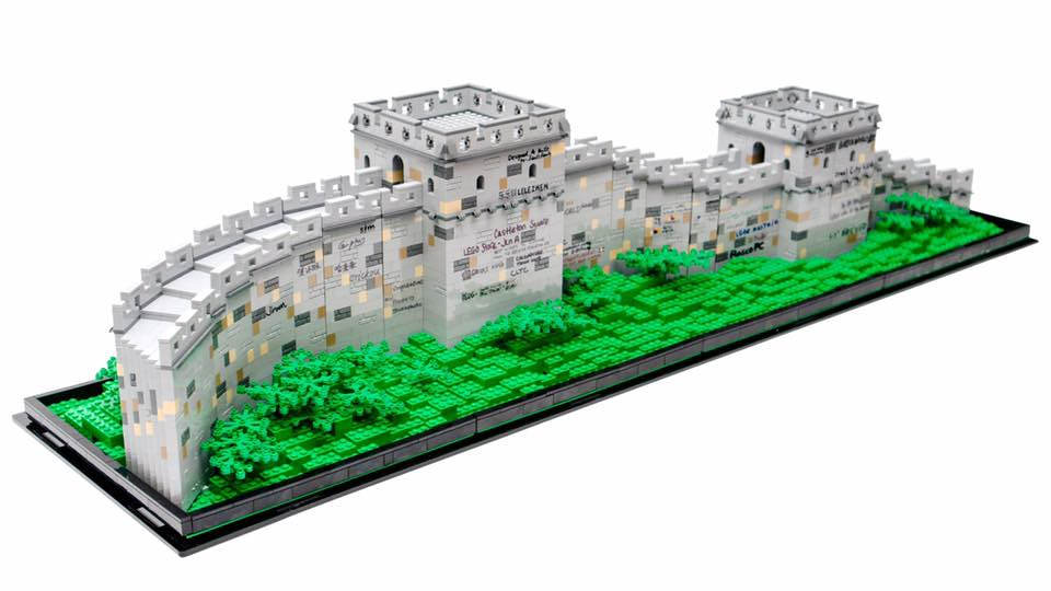 LEGO MOC Great Wall of China