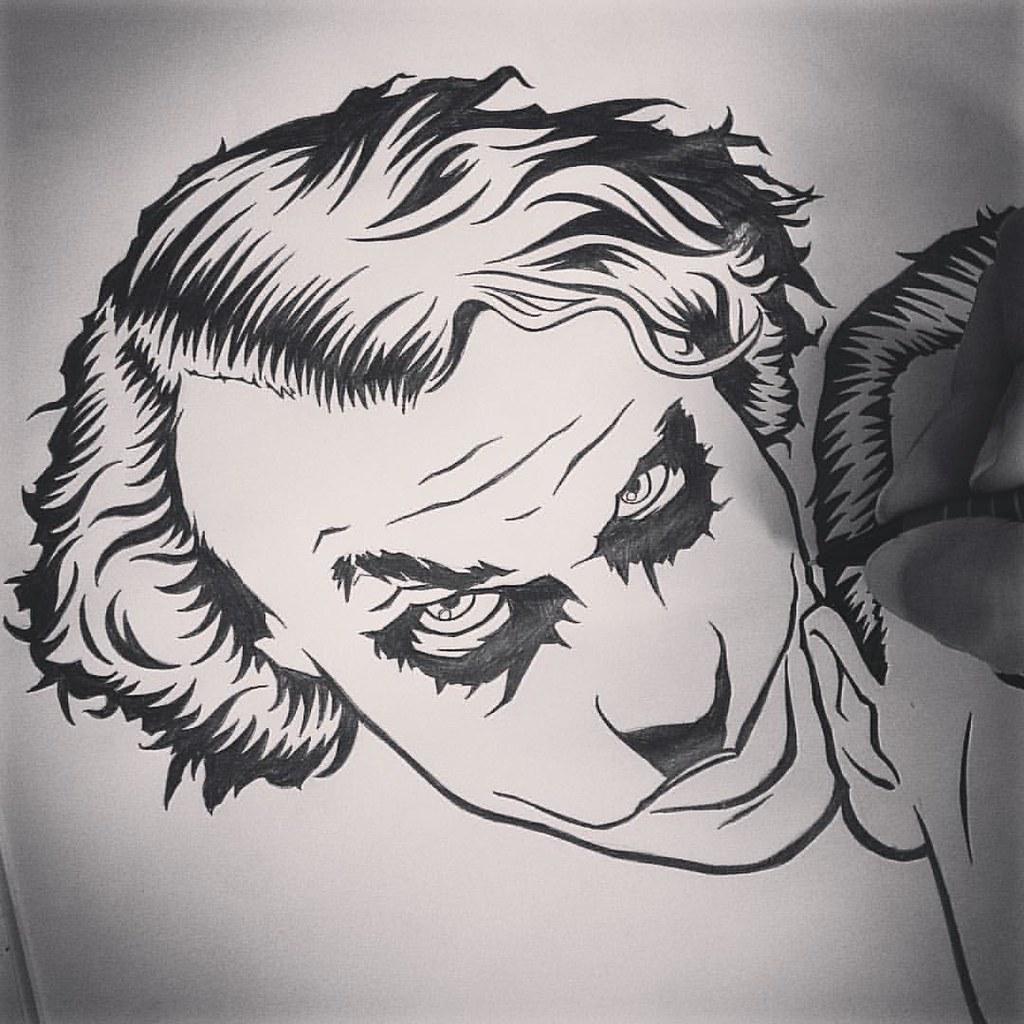 Lets Put A Smile On That Face Heathledger Joker Ba