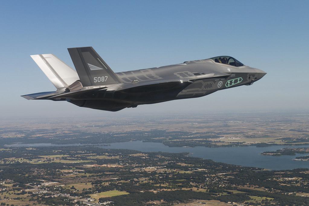 Testflyging av første norske F-35 | Her tester en flyger fra… | Flickr