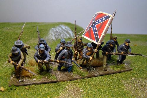 Kugelhagel - ACW Confederate Infantry