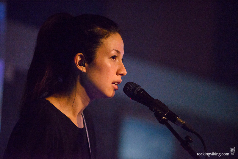 Emmy the Great singing at Leadmill in Sheffield