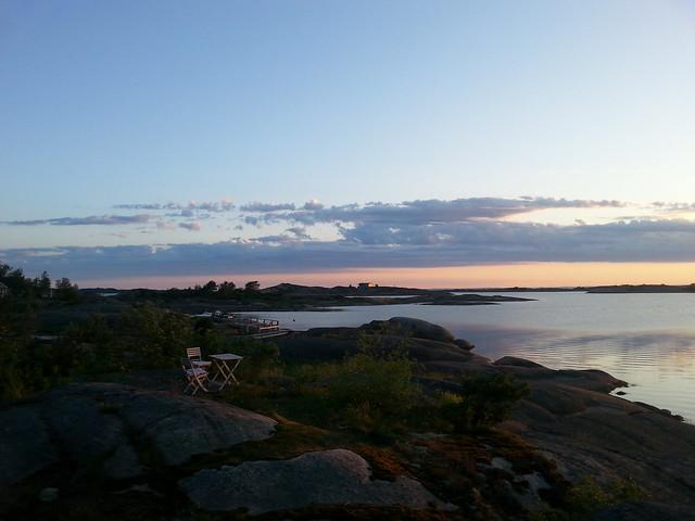 Hytta evening