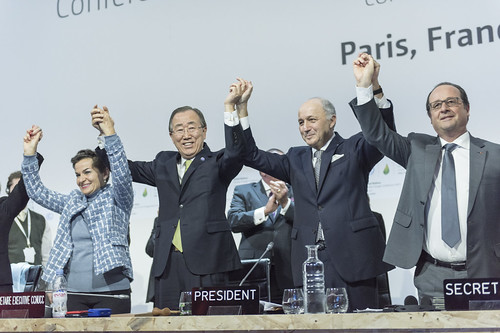 Closing Ceremony of COP21, Paris | by United Nations Photo