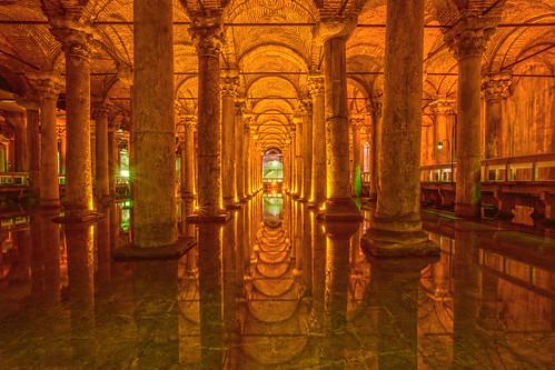 İstanbul, Yerebatan Sarnıcı (Basilica Cistern)  Music: www.…  Flickr