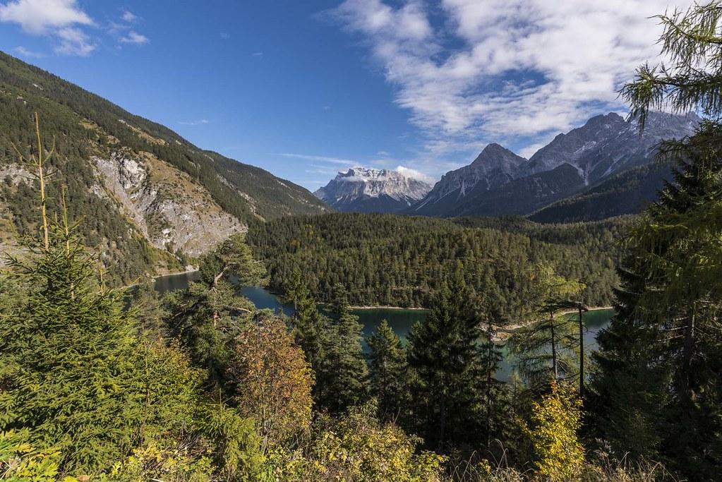 Zugspitze mit Tirolpanorama
