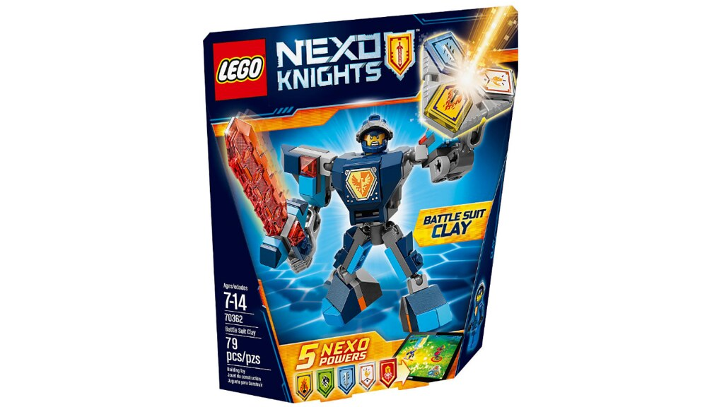LEGO Nexo Knights 70362 - Battle Suit Clay