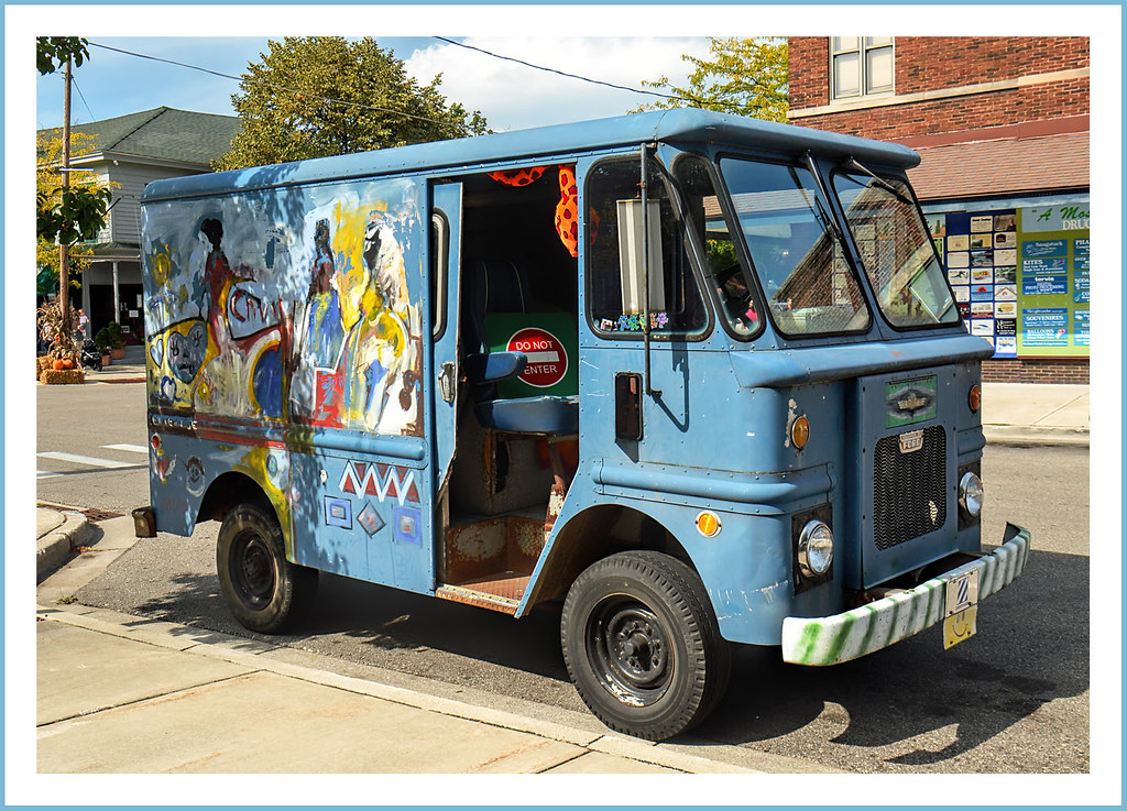 Ford Grumman Olsonette Bread Truck In Saugatuck