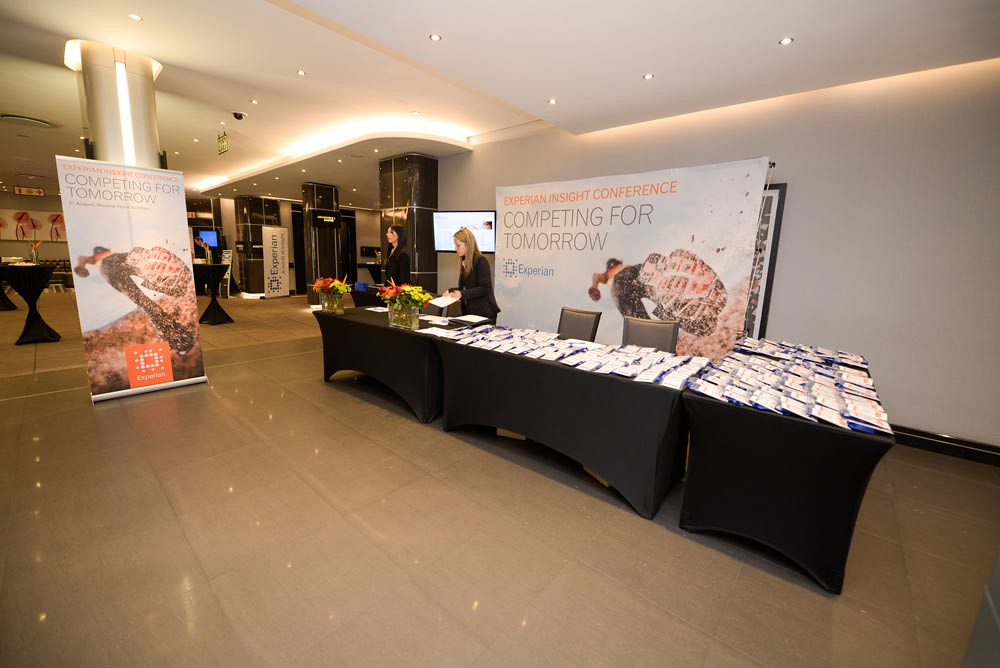 ... Experian Insight Conference Registration Desk | By Experianday