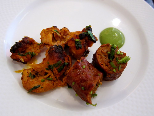 Seekh Kebab and Chicken Tikka