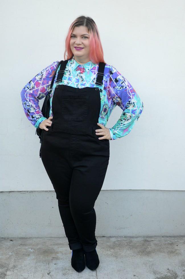 Outfit plus size salopette  (8)
