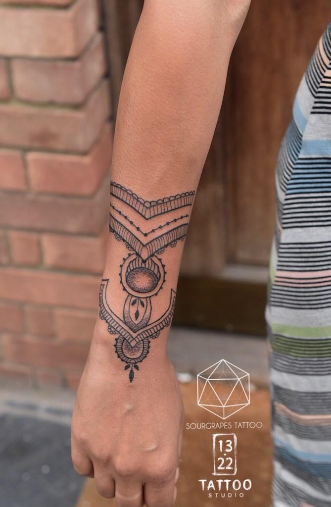 Mehndi Henna Style Tattoo Sourgrapes Tattoo 13 22 Tattoo S Flickr