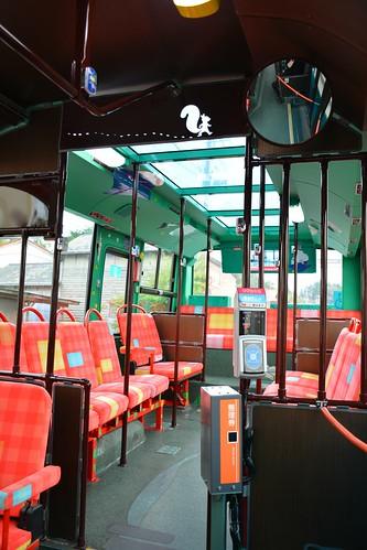 観光型BRT車両「旅」
