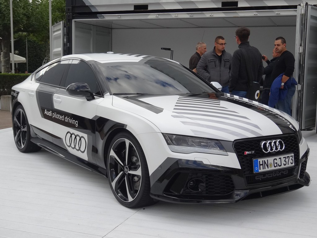 Iaa 2015 Audi Rs7 Sportback Piloted Driving This Audi R Flickr
