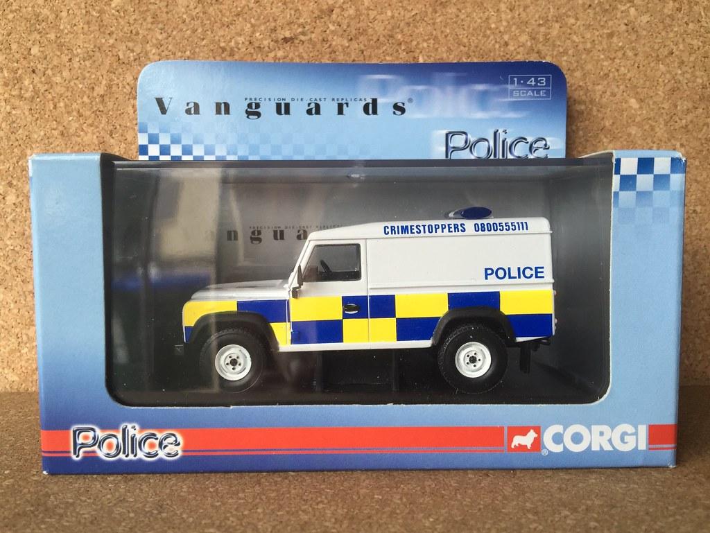 Corgi Vanguards Police - Model VA 09703 - Land Rover Defen… | Flickr