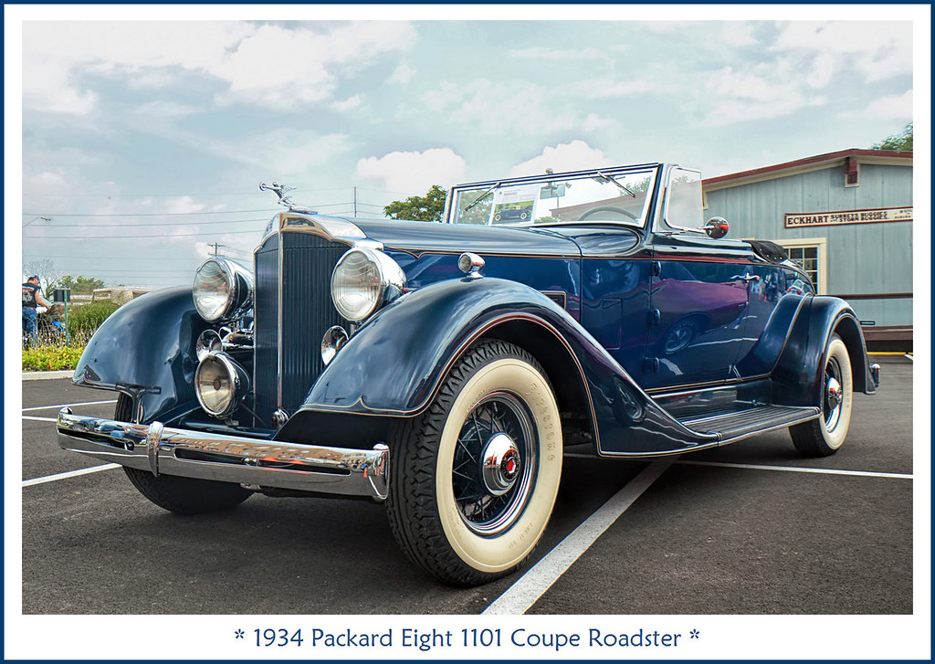 With The Top Up, 1936 Packard Convertible, Randy's Bomb Shop ...